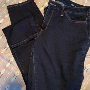 Ana 14 skinny jeans